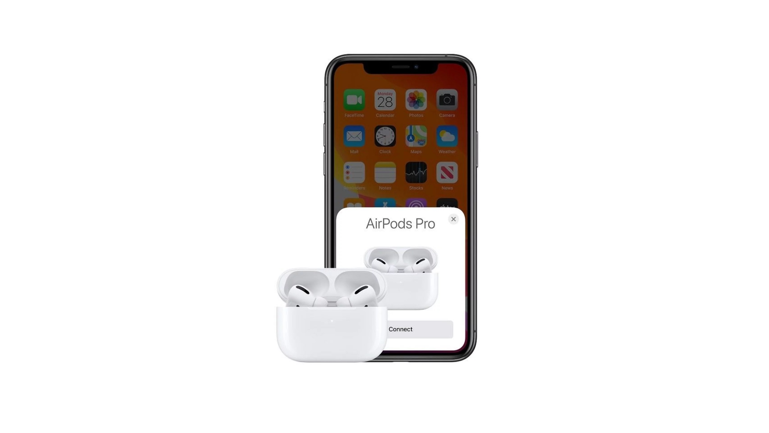 AirPods and iPhone