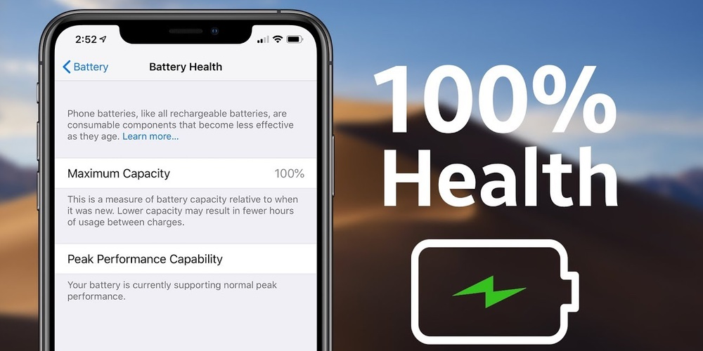 how to maintain iPhone battery health
