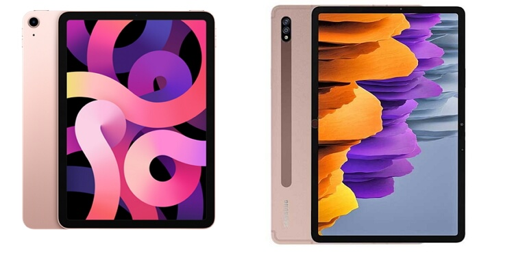Samsung Galaxy Tab S7 vs Apple iPad Air