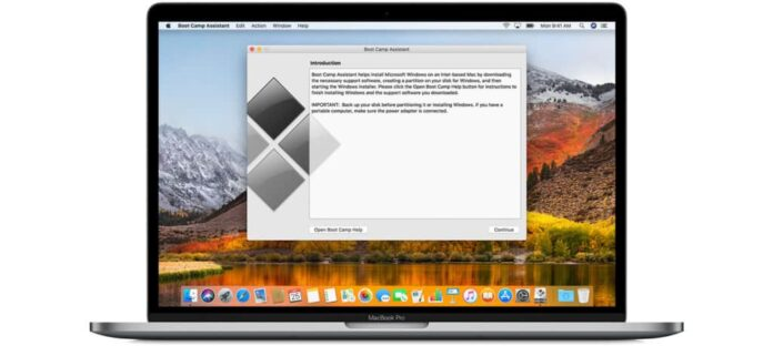 activate Windows 10 in Boot Camp for Mac