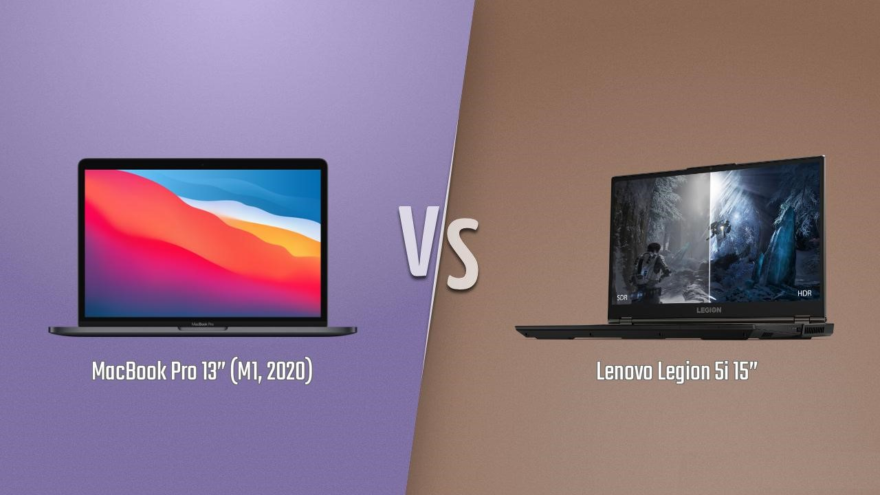 MacBook Pro M1 vs Lenovo Legion 5i