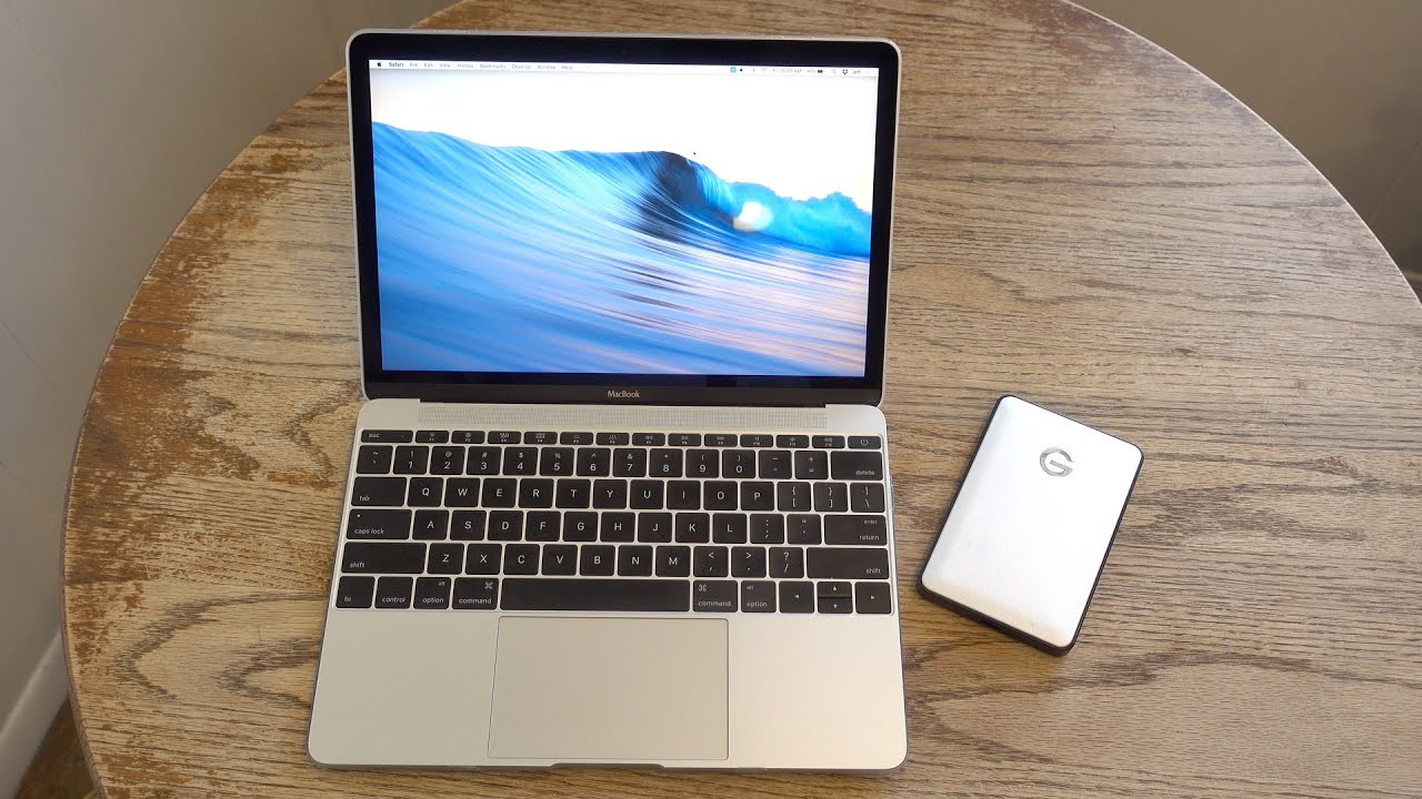 How To Use G Drive Mobile USB On Mac