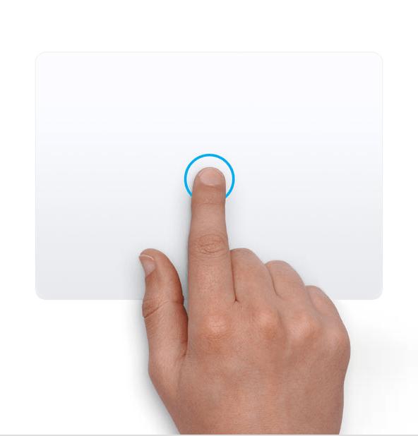 Mac Trackpad Gestures