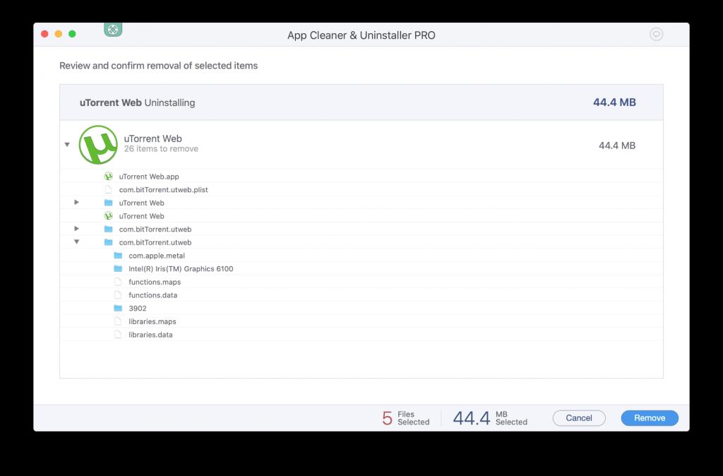 App Cleaner & Uninstaller Pro