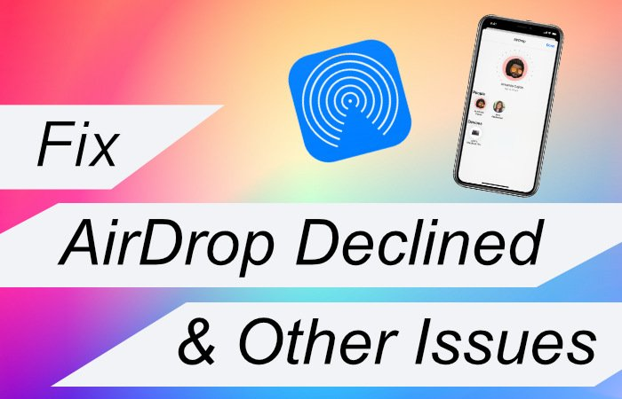 Airdrop Declined