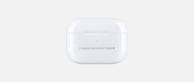 AirPods Engravement Ideas for Colleague
