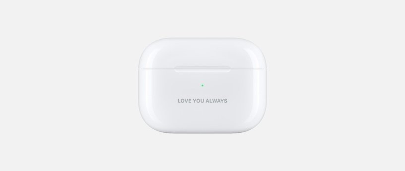 AirPods Engraving Ideas for Anniversary