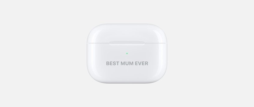 Airpods Engraving Ideas for Mum and Dad