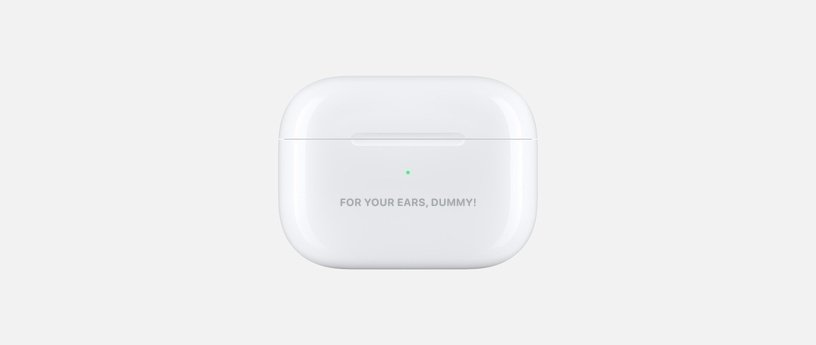 Airpods Funny Engraving Ideas