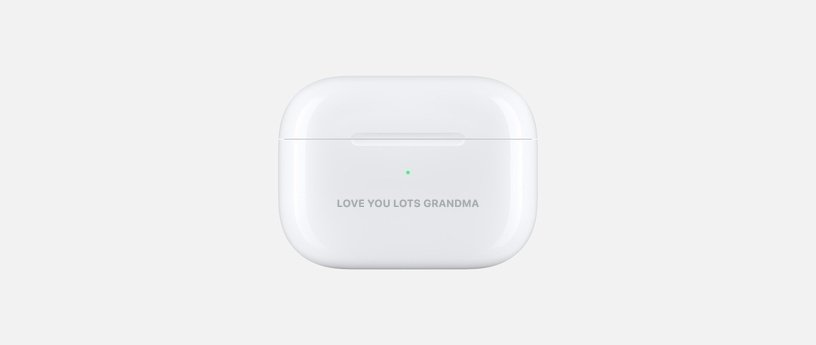 AirPods Engraving Ideas for Grandma