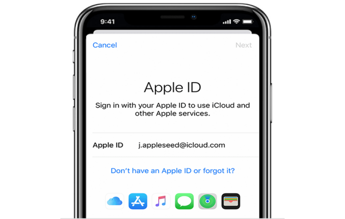 how to create apple id without iPhone